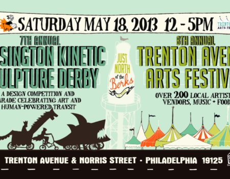 Kensington Kinetic Sculpture Derby Advertisement
