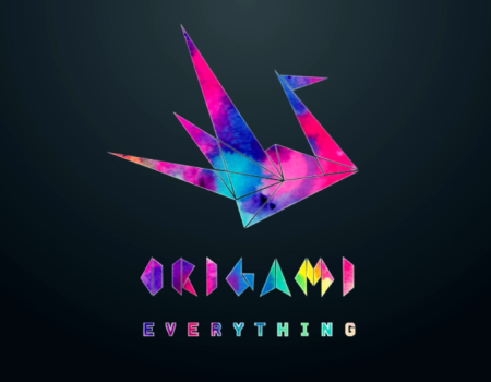 Origami Everything Logo Animations